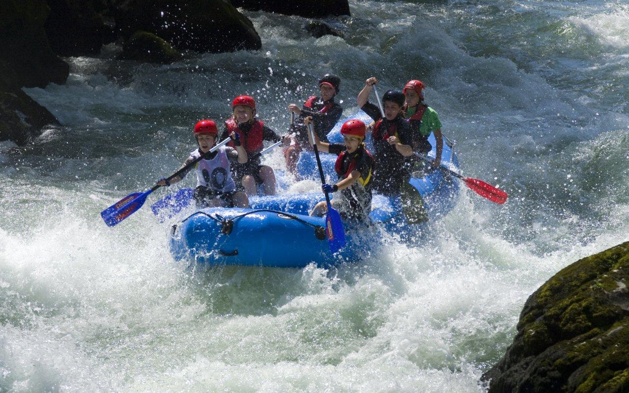 Rafting au Costa Rica