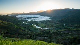 Vallée d'Orosi au Costa Rica