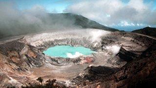 Poas Volcan au Costa Rica