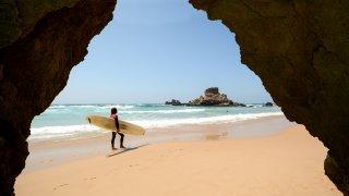 Surfeur du Costa Rica