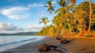 Plage de Bahia Drake au Costa Rica