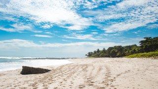 Playa montezuma au Costa Rica