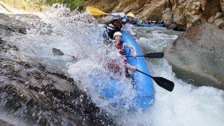 rafting el chorro