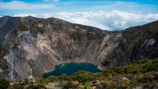 Volcan Iarazu au Pérou