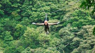 tyrolienne monteverde