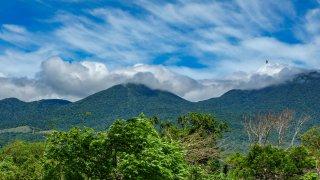 volcans du parc Rincon de la vieja