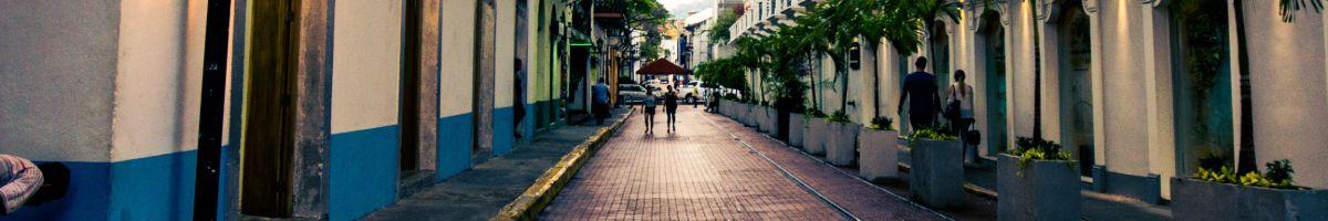 Rues Panama city