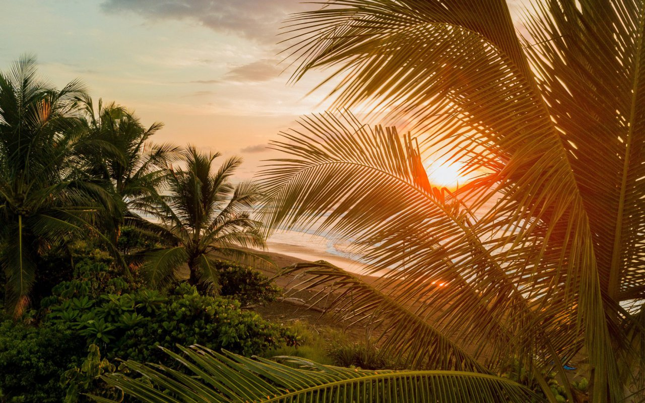 Paysage du Costa Rica