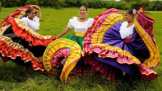 robes traditionnelles Guanacaste